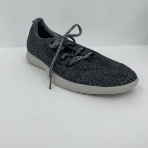 AllBirds men wool runners charcoal gray tennis